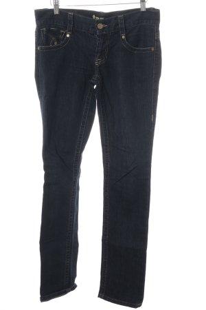 Skinny Jeans dunkelblau Jeans-Optik