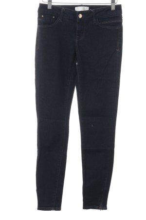 Skinny Jeans dunkelblau schlichter Stil