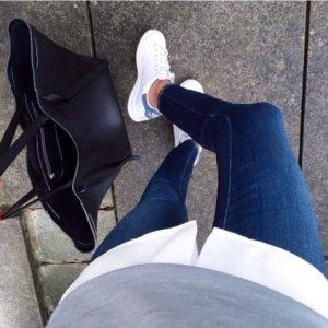 Skinny Jeans dunkelblau super Skin