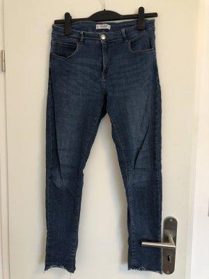 Pull & Bear Skinny jeans blauw-donkerblauw