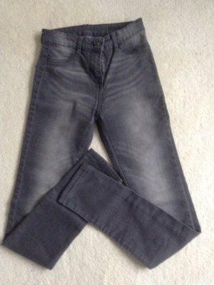 Skinny-Jeans / Gr. 34 XS / grau