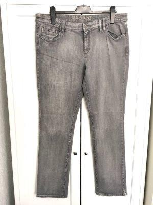 Skinny Jeans Gr. 46 - grau