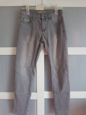 skinny Jeans grau