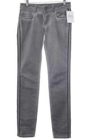 Skinny Jeans grau-anthrazit Casual-Look