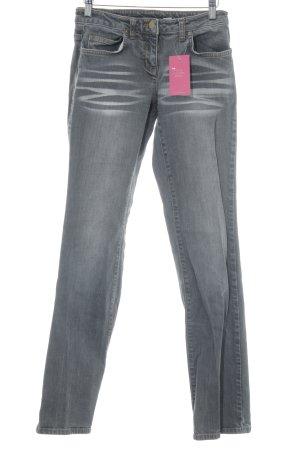 Skinny Jeans grau Casual-Look