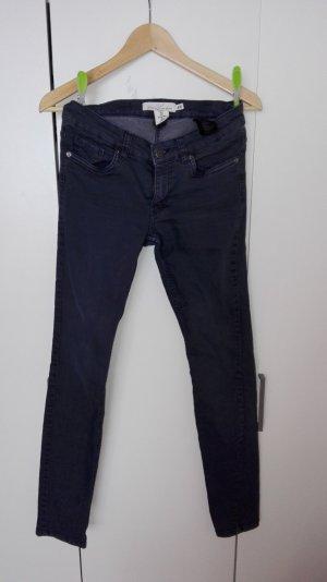 Skinny Jeans graublau H&M Größe 36 ungetragen