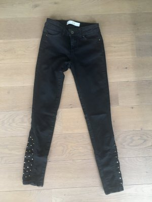 Skinny jeans high waist schwarz von Zara