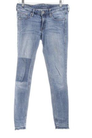 Skinny Jeans himmelblau Jeans-Optik