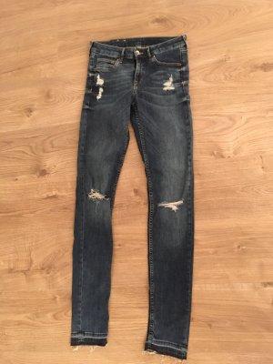 H&M Jeans skinny blu-blu scuro