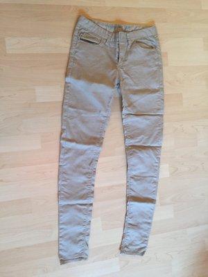 Skinny Jeans in beige von DENIM Co.