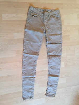 Skinny Jeans in beige von DENIM Co.