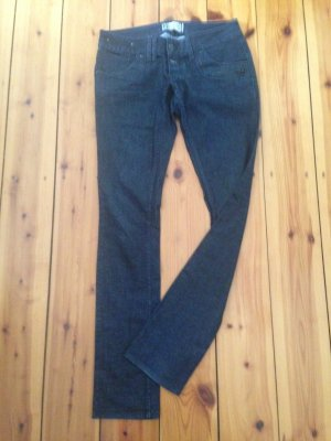 Skinny-Jeans in dunkeldenim/anthrazit