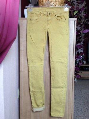 Skinny Jeans in Gelb 26/32