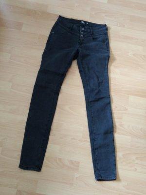 Skinny Jeans in grau Gr. 27