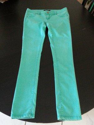 Skinny Jeans in Mintgrün von Tally Weijl Größe 42