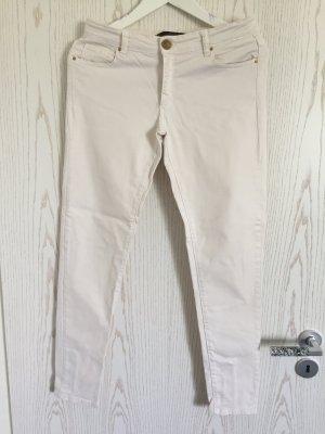 Skinny Jeans in Weiß