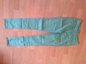 Skinny Jeans in zartem Türkis