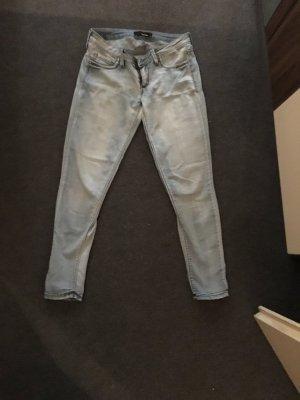 Skinny Jeans jeggins Größe 38 hüfthose hell.