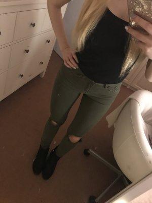 Skinny Jeans Jenna Fit in Khaki