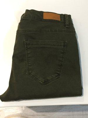 Skinny Jeans khaki Gr.34 Pimkie