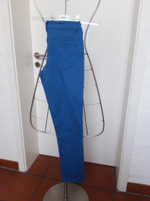 Skinny Jeans, kornblumenblau, Gr. 38, slim-fit, Länge 100 cm, NEU