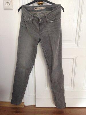 Skinny Jeans Levi's grau