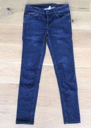 "Skinny Jeans ""London"" von Mango in Dunkelblau"