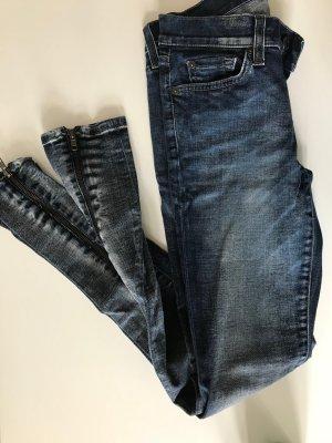 7 For All Mankind Skinny jeans veelkleurig