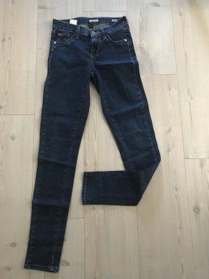 Skinny Jeans mit dezenter Optik
