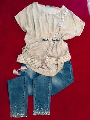 ❤️ Skinny Jeans mit Glitzersteinen von ANA&LUCY