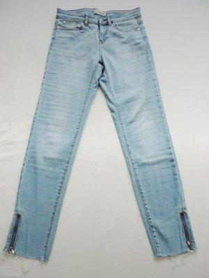 Skinny Jeans mit Reißverschluss