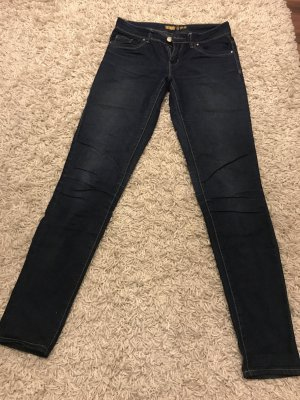 Primark Pantalon cinq poches bleu foncé