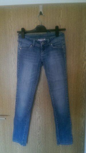 Skinny Jeans, mittelblau