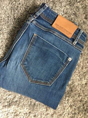 Skinny Jeans Röhrenjeans blau Zara XS 34