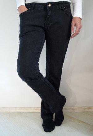 Skinny Jeans Röhrenjeans Miss Anna Schwarz Basic Röhrenhose