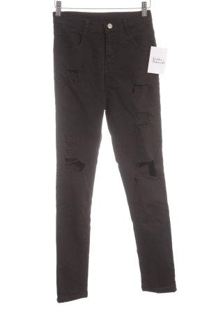 Skinny Jeans schwarz Casual-Look