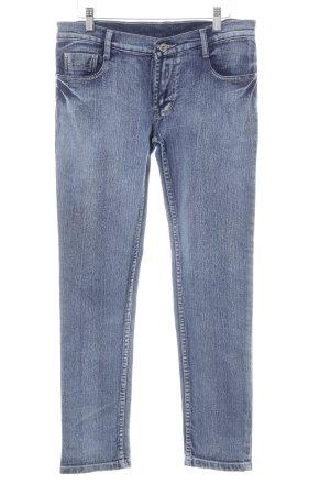 Skinny Jeans stahlblau Casual-Look