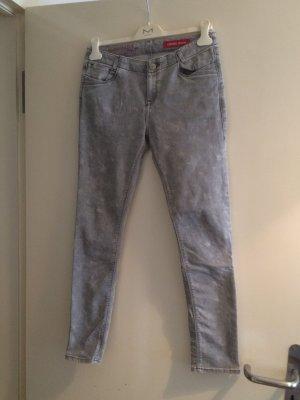 Skinny Jeans Sternenprint