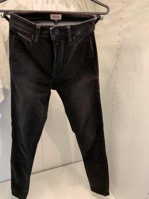 Tommy Hilfiger Skinny jeans donkergrijs-zwart