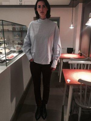 Skinny Jeans Trend Burgund Farbe