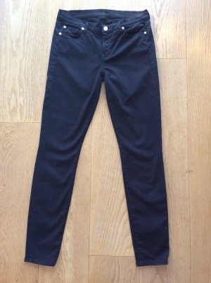 7 For All Mankind Pantalon cigarette noir
