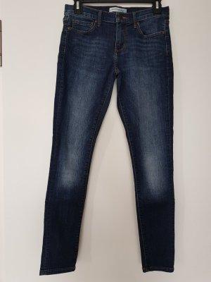 Banana Republic Skinny Jeans dark blue cotton
