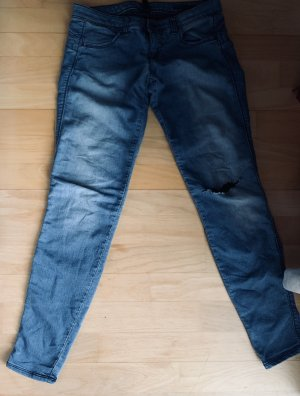 Benetton Skinny Jeans steel blue