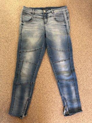 Blue Fire Skinny Jeans light blue