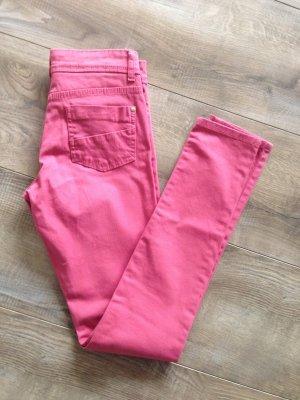 Skinny Jeans von Denim &Co. in rosa Gr.32