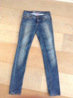 Edc Esprit Skinny jeans donkerblauw-staalblauw