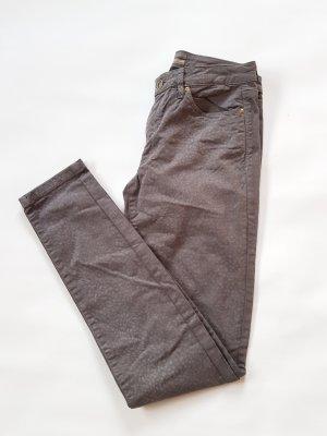 Skinny Jeans von Esprit in Grau mit Print