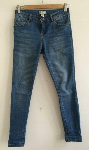 skinny jeans von FOREVER21 34 XS denim
