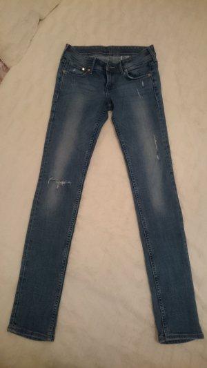 Skinny Jeans von H&M in hellblau