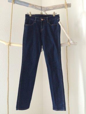 H&M Jeans skinny bleu-brun sable